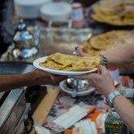 Focaccine marocchine in piatto Mater-Bi_ph Max Valle