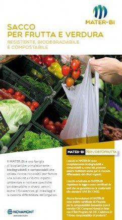 sacco frutta e verdura in mater-bi
