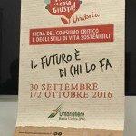 Fa' la cosa giusta! Umbria 2016
