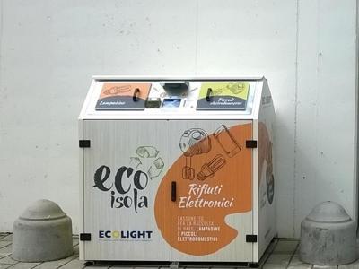 eWaste, la differenziata si fa in negozio: due nuove EcoIsole a Vicenza e Verona
