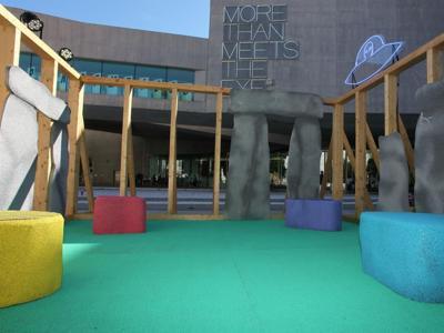 Maxxi, installazione 'sostenibile' palcoscenico dell'estate romana