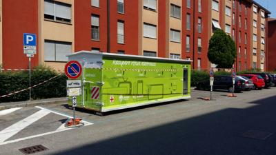 Rifiuti elettronici, a Milano c'è il container itinerante