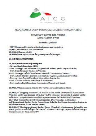 5° Convegno Nazionale Centri Giardinaggio