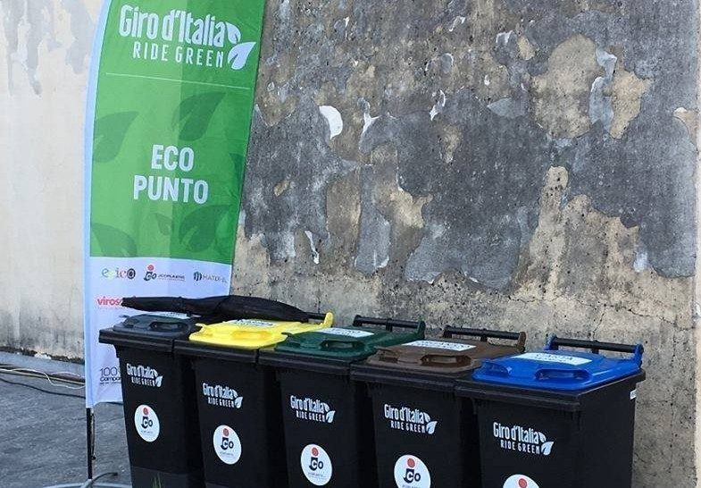 Il Giro d'Italia all'insegna della sostenibilità con Ride Green