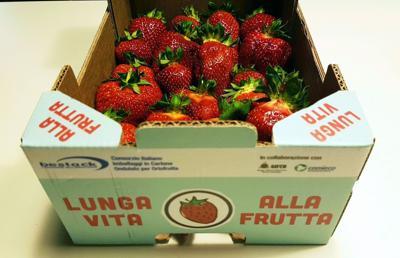 Lunga vita alle fragole, arriva il packaging 'Attivo'