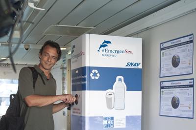 Alessandro Preziosi testimonial della campagna 'EmergenSea'