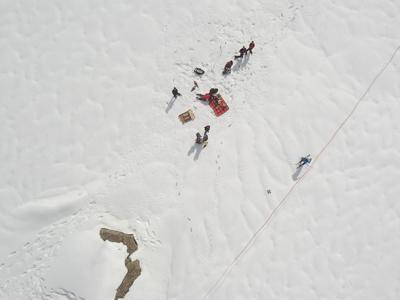 Dream, mappare i ghiacciai e monitorare le risorse idriche con i droni