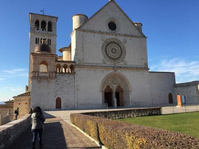 Assisi, il Sacro Convento è 'green'