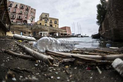 Mediterraneo di plastica, peggio a Portici