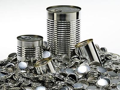 Nel 2017 riciclato il 75% degli imballaggi in acciaio