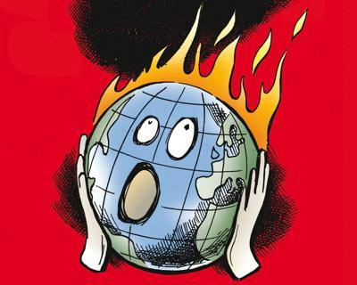 Dal 1850 la curva della temperatura globale a 'mazza da hockey'