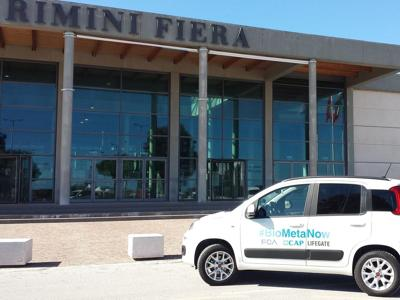 A Rimini torna la Panda #Biometanow