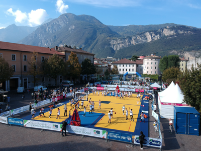 Al Festival dello Sport campi da gioco in gomma riciclata