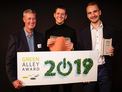 Green Alley Award, vince la 'pelle' da gelatina