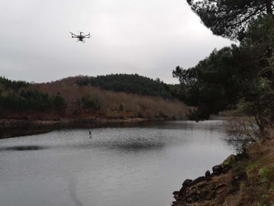 Da Indra l'eco-drone per la protezione di fiumi e coste