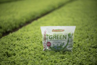 Con Novamont l'insalata diventa 'Un sacco green'